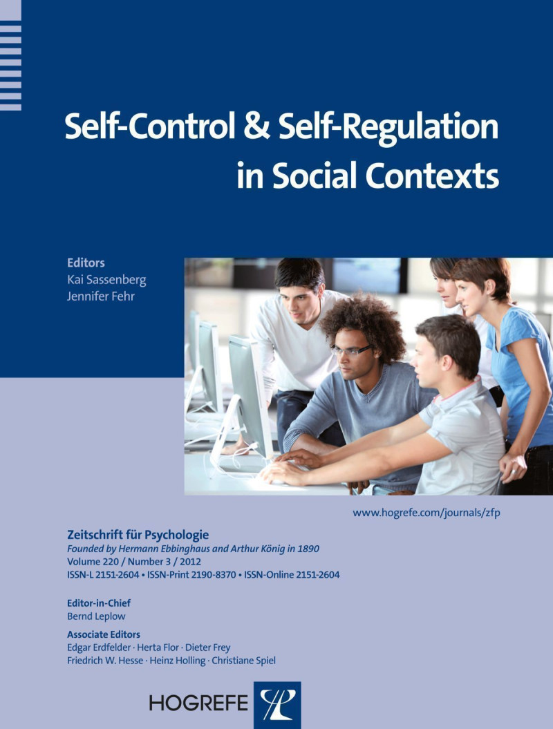 Self-Control and Self-Regulation in Social Contexts