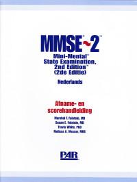 MMSE-2 Mini-mental state examination (tweede editie)