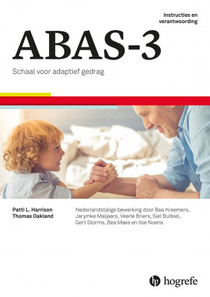 ABAS-3 startpakket Nederlandse versie kinderen 0-4 jaar (Handleidingen 'Instructies en verantwoording' en 'Nederlandse normen en aanvullende analyses', 10 vragenlijsten ouderversie 0-4 jaar, 10 vragenlijsten leerkrachtversie 2-4 jaar, 10 scoreformulieren