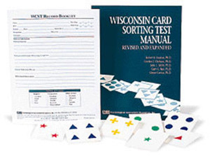 WCST Introductory Kit (includes WCST Revised and Expanded Manual, 2 Decks of Cards and 50 Record Booklets