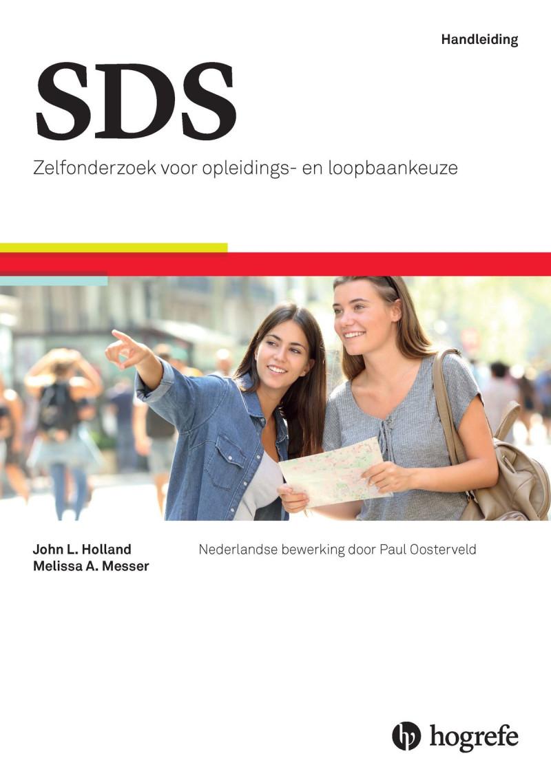 SDS startpakket mbo (handleiding, 25 testboekjes met opleidingenzoeker mbo en 25 testboekjes met beroepenzoeker mbo)
