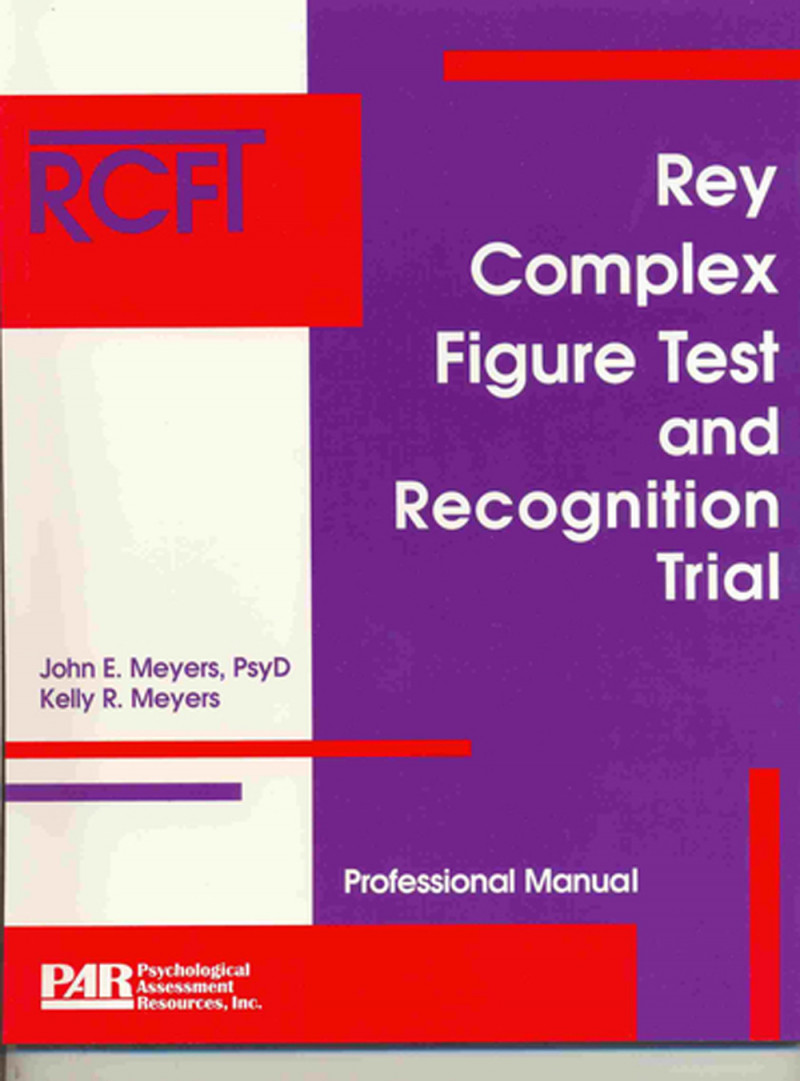 RCFT introductory kit (includes manual, supplement, 50 test booklets and stimulus card)