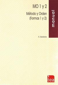 Método y Orden- Formas 1 e 2