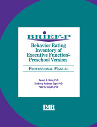 Behaviour Rating Inventory of Executive Function, Preschool Version