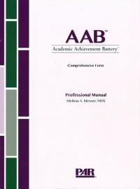 Academic Achievement Battery Comprehensive Form