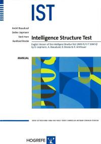 Intelligence Structure Test (IST)