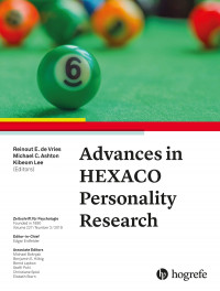 Advances in HEXACO Personality Research