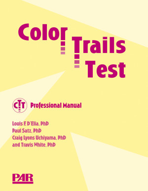 Introductory Kit (Professional Manual, 25 Record Forms, 25 each of: Form A Trials 1 and 2 Test Sheets)