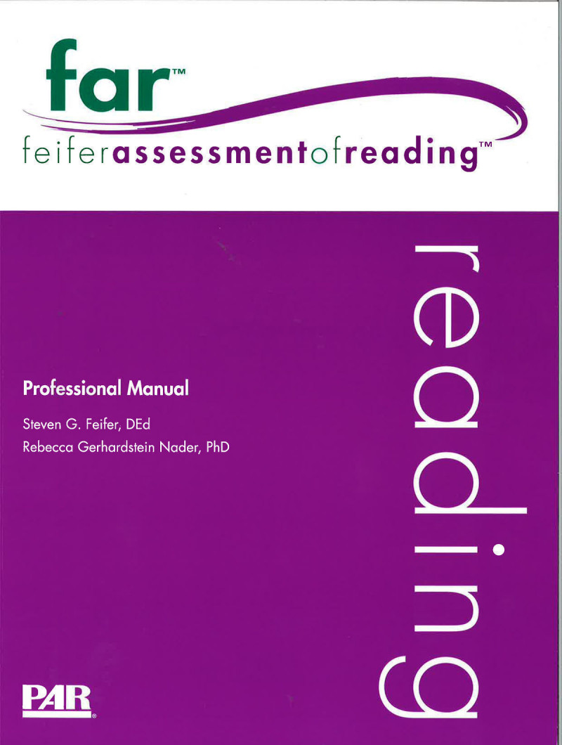 Comprehensive Kit (includes FAR Professional Manual with Fast Guide, 10 Examiner Record Forms, 10 Examinee Response Forms, Stimulus Book 1, Stimulus Book 2, Stimulus Book 3, set of 3 Scoring Templates, and Storybook)