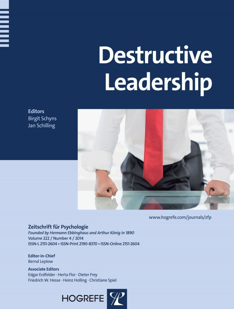 Destructive Leadership