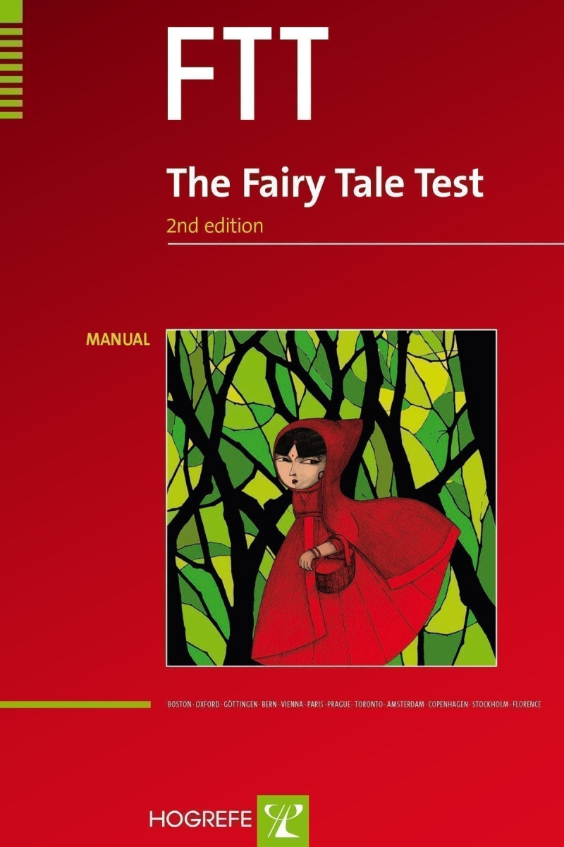 FTT - Complete test kit consisting of manual, 21 test cards, and 10 recording sheets.
