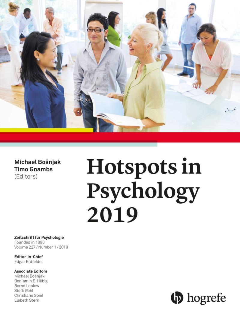 Hotspots in Psychology 2019